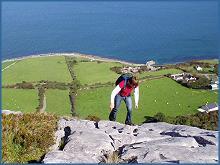 l'escalade de rocher & la randonnée au Burren